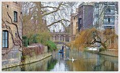 The Bridge of Sighs in Cambridge is a covered bridge belonging to St John's College of Cambridge University.