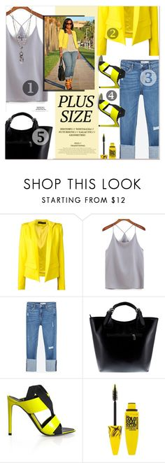 Spring Date: Pretty Plus-Size Style by meyli-meyli on Polyvore featuring Alexandre Vauthier, Zara, Massimo Castelli, Love Heals, Maybelline and springdate