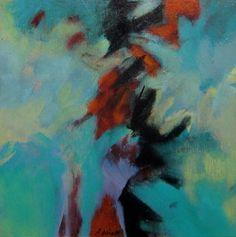 Studie 46, 2014 (P.Wienand)  Öl auf Leinwand/MDF,   25 x 25 cm