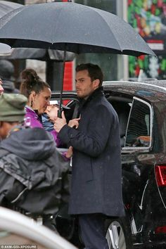 Fifty Shades Darker: Jamie Dornan was also spotted briefly on set...March 2016