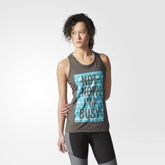 adidas - Not Now I'm Busy Tank Top