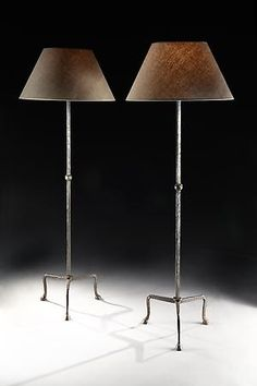 Rose Uniacke - Shop - A wrought iron and patinated standing lamp by Rose Uniacke