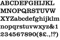 Clarendon was voted #87 among the http://www.100besttypefaces.com/