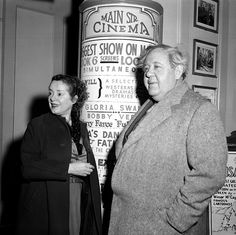 A Look Back at Celebrated Disneyland Resort Guests: Elsa Lanchester and Charles Laughton – 1956