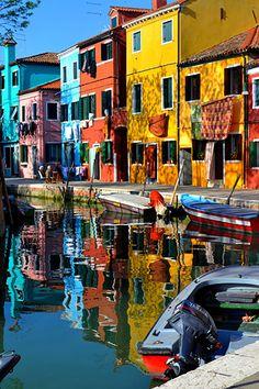 île de Burano, Venise Italie
