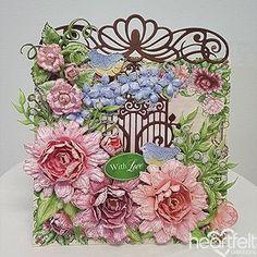 Sweet Love Peonies -  #HeartfeltCreations #papercraft #crafting #scrapbooking #cardmaking  #card #peony #anyoccasion #thinkingofyou