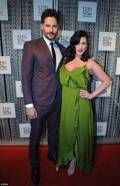 Joe Manganiello and Bridget Peters @ ASTRA Awards in Sydney 25-07-2013