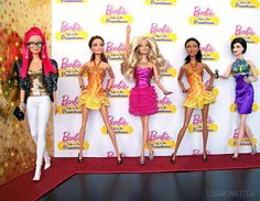 LIVE! From The Red Carpet | Sassy, Barbie, The B.Girlz and V… | Flickr