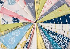 Fresh prints and soft colors from Little Things by Arrin Turnmire for Moda Fabrics