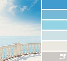 Beach paint colors.