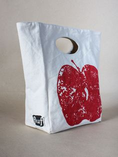 Flying A NYC — Apple Lunch Bag by Fluf