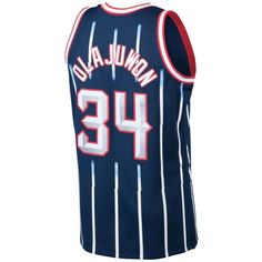 Mitchell   Ness Men s Hakeem Olajuwon Houston Rockets Hardwood Classic  Swingman Jersey Men - Sports Fan Shop By Lids - Macy s e1f98a60a