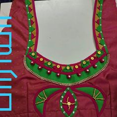 Patch Work Blouse Designs, Fancy Blouse Designs, Bridal Blouse Designs, Churidar Neck Designs, Saree Blouse Neck Designs, Diya Designs, Hand Designs, Muggulu Design, Fashion Blouses