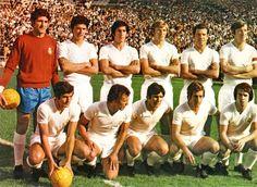 Equipos de fútbol: REAL MADRID contra Sabadell 03/10/1971