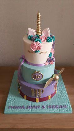 Harry Potter / unicorn birthday cake