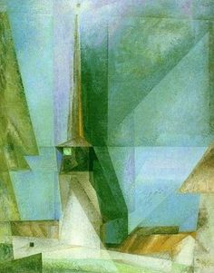 Lyonel Feininger Walter Gropius, Naive Art, Aboriginal Art, Beautiful Paintings, Painting Inspiration, Painting & Drawing, Landscape Paintings, Modern Art, Abstract Art