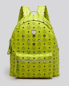 Mcm Backpack - Stark Sprinkle Stud Large