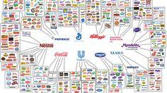Principales empresas del sector alimenticio ¿Existe monopolio?