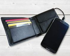 Power wallet now charge phone
