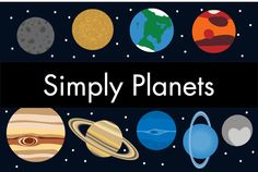 Simply Planets by brooklyne on @creativemarket