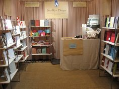 My craft show booth by Blue Roof Designs, via Flickr
