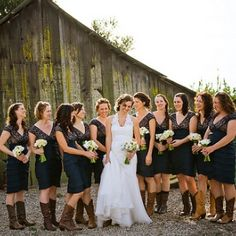 Inspiring pictures of Country Wedding Dresses With Cowboy Boots Ideas. You can use this Country Wedding Dresses With Cowboy Boots Ideas to upgrade your style. Wedding Bells, Wedding Pictures, Fall Wedding, Dream Wedding, Chic Wedding, Cowgirl Wedding, October Wedding, Wedding Attire, Elegant Wedding