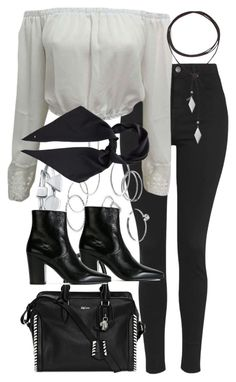 """""""Untitled #1791"""" by sophiasstyle ❤ liked on Polyvore featuring Topshop, LC Lauren Conrad, Bling Jewelry, Yves Saint Laurent, Alexander McQueen and Vanessa Mooney"""