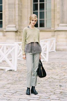 Vanessa Jackman: Paris Fashion Week SS 2013....Hedvig