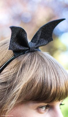 DIY Bat Wings Headband