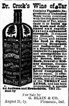 Dr. Crook's Wine of Tar
