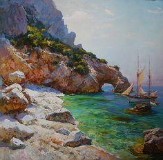 artist Sviridov Sergey, Silence