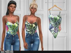 ShakeProductions 132 - Bodysuit - The Sims 4 Download - SimsDom