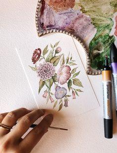 Watercolor Background, Abstract Watercolor, Watercolor Illustration, Watercolor Flowers, Watercolor Paintings, Watercolour, Original Artwork, Original Paintings, Female Painters