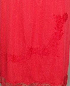 Vintage Seamprufe Half Slip Nylon Medium Lace Applique by ShonnasVintage, $17.99