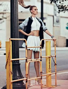 Maryna Linchuk by Alexi Lubomirski for Vogue Russia May 2012 #editorial #fashion