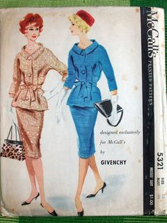 McCall's 5321 by Givenchy