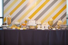 Yellow + Grey Contemporary Wedding in Florida - Belle the Magazine . The Wedding Blog For The Sophisticated Bride