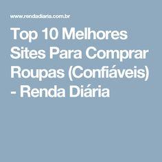 Top 10 Melhores Sites Para Comprar Roupas (Confiáveis) - Renda Diária 19daf8da182cb