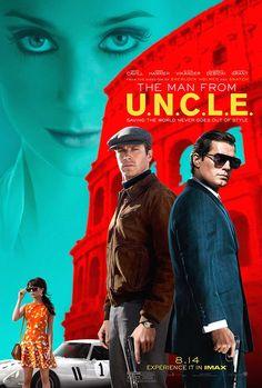 Agents très Spéciaux - Code UNCLE , film de Guy Ritchie avec Henry Cavill et Armie Hammer alias Napoléon Solo et Illya Kuryakin, Alicia Vikander.