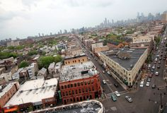 Aerial view of Chicago's Wicker Park neighborhood-Where to go for all-you-can-drink brunching, homemade Oreos, and nudity in Wicker Park
