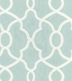 Find Kelly Ripa Home Clearly Cool Jacquard Spa Ikat Home Décor Fabric at Michaels. This versatile fabric is great for window treatments, duvet and sham covers, throw pillows, light upholstery, and more. Kelly Ripa, Extra Fabric, Chair Upholstery, Upholstery Fabrics, Cool Fabric, Home Decor Fabric, Joann Fabrics, Curtain Fabric, Pattern Wallpaper