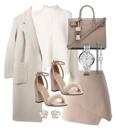 """Untitled #19350"" by florencia95 ❤ liked on Polyvore featuring Chicwish, URBAN ZEN, Boutique, Office, Yves Saint Laurent, FOSSIL and Shaun Leane"