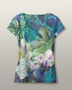 Brushstrokes burnout tee  Lori this is the 2   There is one I think you would really like and it s a 4  I pinned it too