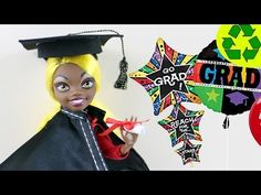 Craft: Make Doll Graduation Diploma, Cap and Gown - EP 744