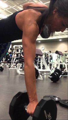Sarah Bowmar Back Workout- Renegade Rows