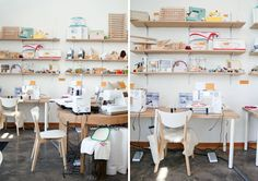 Souped up Sewing Room   Maker Spaces