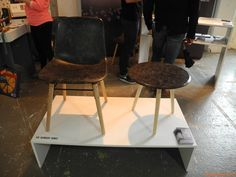 Furniture made with wool - Design Center Ex-Ansaldo