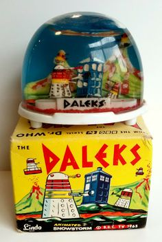 Daleks of the Day: 1965 Daleks Animated Snowstorm