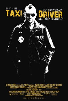 1976 movie posters | ... Restoration of Taxi Driver (Martin Scorsese, 1976, 113 min.) on 35mm