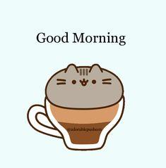 Pusheen Love, Pusheen Plush, Pusheen Cat, Pusheen Stuff, Cat Wallpaper, Journal Cards, To Tell, Cute Cats, Good Morning
